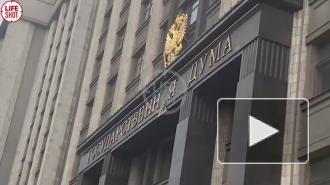 """На фасад Госдумы вернули упавшую букву """"А"""""""