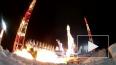 Видео от Минобороны: ВКС РФ запустили на орбиту космичес ...