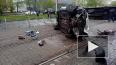 Появилось видео с места тройного ДТП на Бухарестской ...