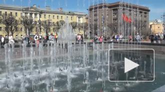 Светомузыкальные фонтаны - подарок городу ко Дню Победы