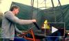 Блогер-изобретатель запустил огненное торнадо из фейерверков