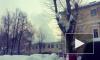 Появилось видео пожара в авиационном техникуме в Перми