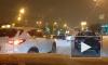 На пересечении Полюстровского и Пискаревского проспектов из-за ДТП с такси образовалась пробка