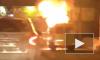Видео: в Волгограде у Красного Октября сгорела маршрутка
