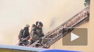 Возгорание на Западном скоростном диаметре в Петербурге удалось потушить