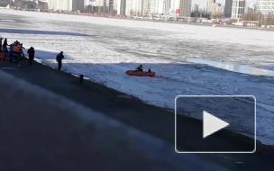 Спасатели продолжают поиск тела провалившегося под лед на Неве четвероклассника