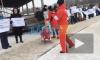 Видео: жители Кудрово устроили в парке пикет