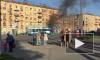 Видео: На Наличной сгорел пассажирский автобус