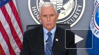 Пенс: власти США обеспечат безопасность на инаугурации Байдена