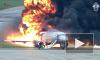 Появилось полное видео авиакатастрофы SSJ-100 в Шереметьево