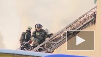 4 пожарных машины выезжали на Каховского, 15 человек эвакуировали из горящего дома