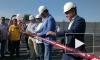 Губернатор Ленинградской области Александр Дрозденко открыл новый путепровод под Выборгом