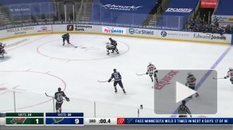 """Сент-Луис"" разгромил ""Миннесоту"" в матче НХЛ"