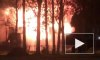 Ночью на Крестовском острове горел павильон