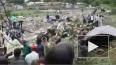 В Сети появилось видео с места падения самолета Ан-12 ...