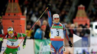 Биатлон: Макарайнен выиграла спринт в Хохфильцене