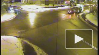 Нападение сзади. ДТП на Петровском проспекте