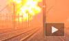 Небо над Польшей озарилось вспышкой от взрыва. Столкнулись поезда, перевозившие нефть