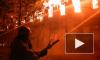 В Петербурге горит жилой дом на улице Шкапина