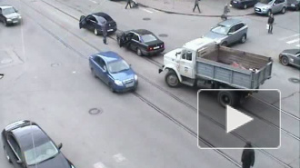 Пешеходная авария на Среднем проспекте