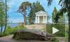 В парке Монрепо в Выборге сгорел Храм Нептуна