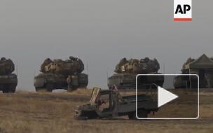 Армия Израиля нанесла удары по военным целям на границе с Сирией