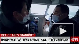 Корабль ВМФ РФ заставил отступить украинский катер с американским журналистом