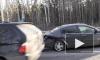 Видео: ДТП на углу улицы Индустриальной и Выборгского шоссе