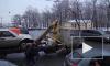 Полиция Петербурга забрала Mercedes без номеров у подозрительных эвакуаторщиков