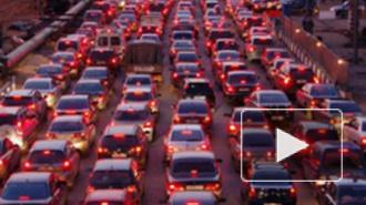 Петербург вошел в десятку городов мира с самыми большими пробками