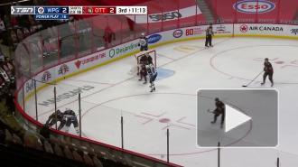 """""""Оттава"""" выиграла в домашнем матче НХЛ против """"Виннипега"""""""