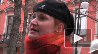 """""""Группировка перемен"""" перезимовала  на  Васильевском  острове в касках"""