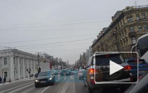 Авария у Аничкова моста