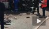 """Видео: На Индустриальном в страшной аварии столкнулись """"скорая"""", троллейбус и мусоровоз"""