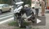 На Митрофаньевском шоссе в Петербурге разбился байкер
