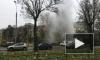 Видео: На Краснопутиловской забил фонтан кипятка выше пятиэтажки