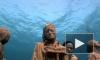 Протестующие в Мексике ушли под воду