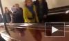 """На станции """"Площадь Восстания"""" сломался эскалатор на подъем"""