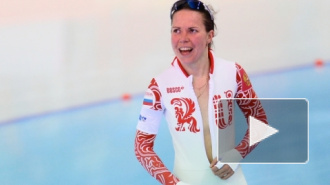 Ольга Граф расстегнула костюм и устроила стриптиз на Олимпиаде в Сочи
