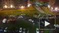 Видео: полицейский пытался ногой остановить водителя ...