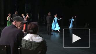 «Женские портреты» от театра балета имени Л.Якобсона на сцене Александринки.