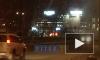 Видео: на Байконурской сгорел автомобиль