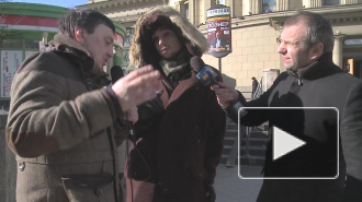 Трамвайные хамы зовут петербуржцев в Крым