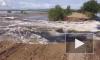 В Комсомольске вновь прорвало дамбу, утонул КамАЗ с солдатом