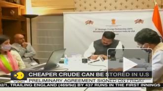 Индия намерена хранить нефтяные запасы в США