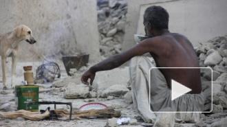 Землетрясение в Пакистане породило новый остров в океане