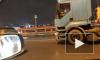 Видео: на КАД произошло массовое ДТП с участием цистерны