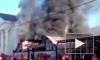Видео пожара из Ростова: дотла сгорел бутик одежды