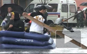 Наводнение в Албании. Тысячи людей эвакуированы