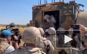 ВКС России нанесли ответный удар после подрыва патруля в Сирии